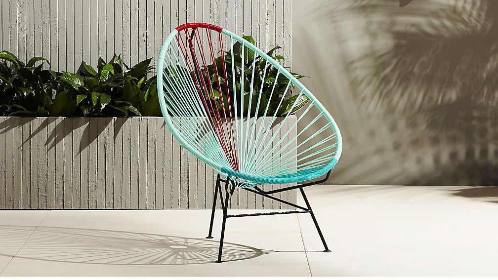 Un superbe exemple de fauteuil acapulco