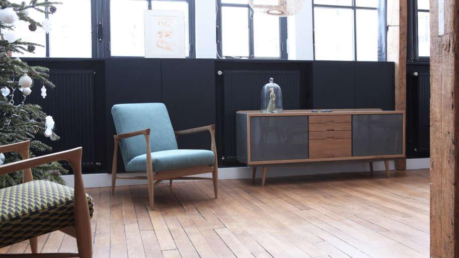 Enfilade scandinave, le meuble vintage tendance!