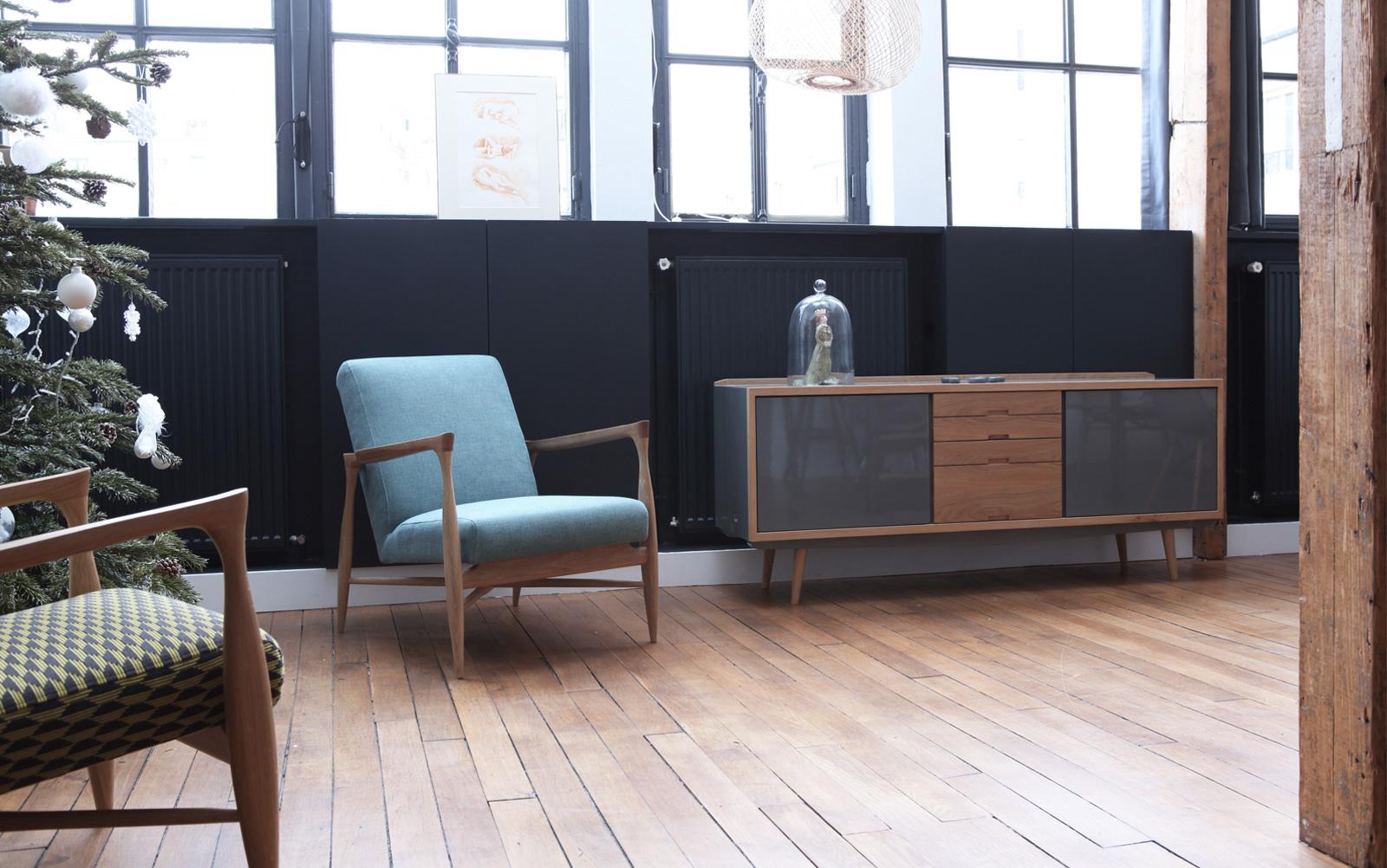Qu Est Ce Qu Une Enfilade enfilade scandinave, le meuble vintage tendance ! - avant