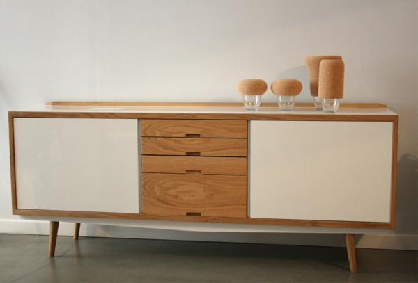 Enfilade scandinave le meuble vintage tendance avant for Meuble tendance scandinave