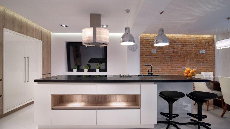 Une cuisine bois et noir : le summum du luxe