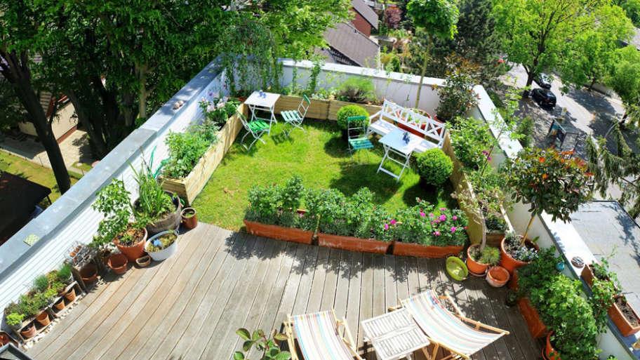 3 astuces pour faire un jardin sur son toit