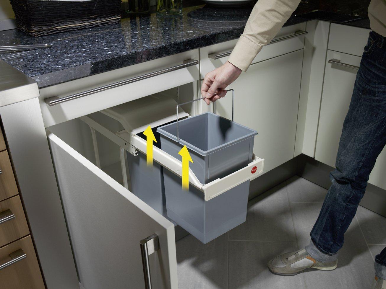 poubelle encastrable dans la cuisine nos conseils ag. Black Bedroom Furniture Sets. Home Design Ideas