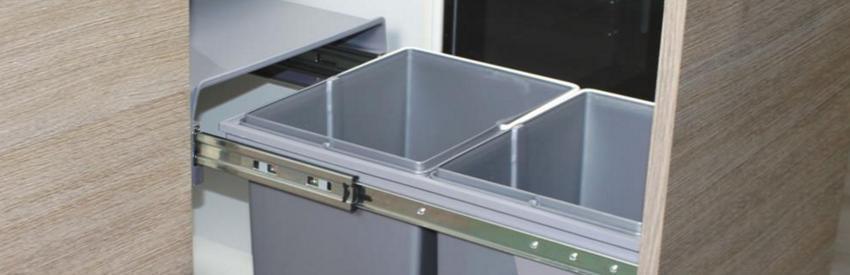 Et si j'optais pour une poubelle encastrable dans ma cuisine ?