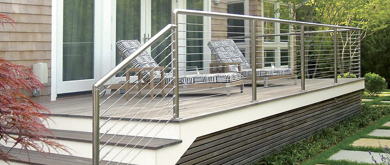 le garde corps en inox latout charme de votre terrasse dmonstration