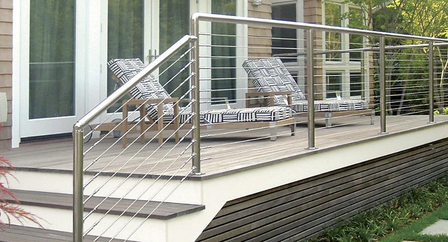 Le garde-corps en inox : l'atout charme de votre terrasse : Démonstration !