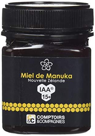 exemple de pot de miel de manuka