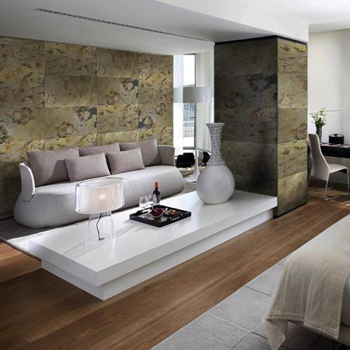 Feuille de pierre: la tendance pour décorer son mobilier