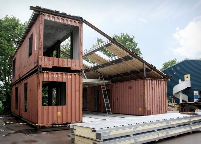 Maison container – Une construction économique et tendance