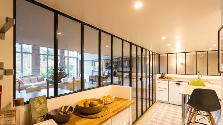 Quelle est la meilleure pièce pour faire installer une verrière d'intérieur ?