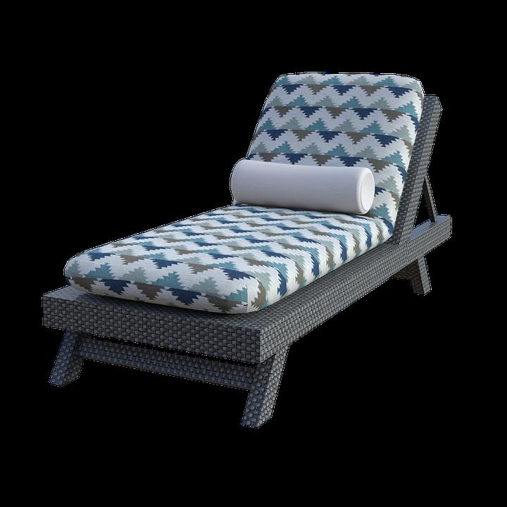 Le modèle de bain de soleil en résine tressé est idéal pour assurer votre relaxation.
