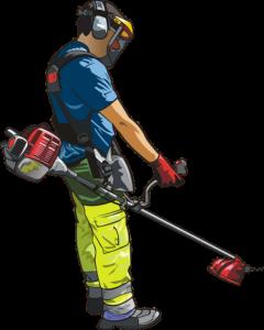 Une débroussailleuse électrique est un outil utiliser pour couper, élaguer ou abattre les broussailles.