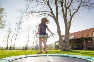 La longévité d'un tapis de saut dépend aussi de son installation.