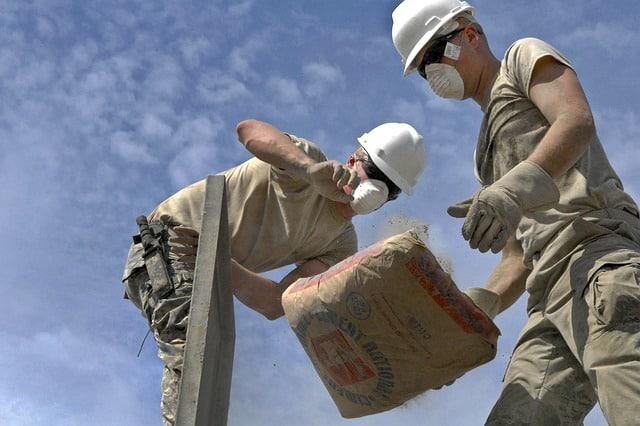 Le Ciment Prompt est employé pour confectionner des bétons esthétiques