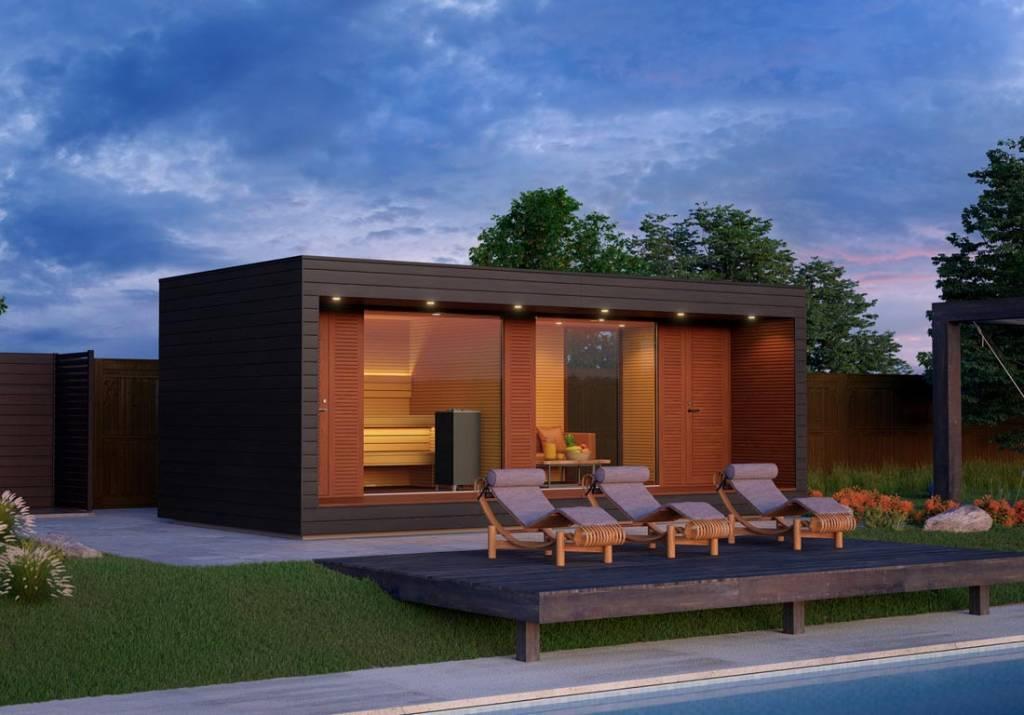 forme du sauna