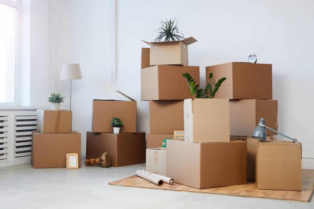 cartons de rangement, box de stockage