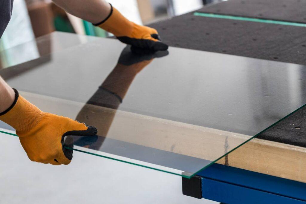 installation meubles en verre
