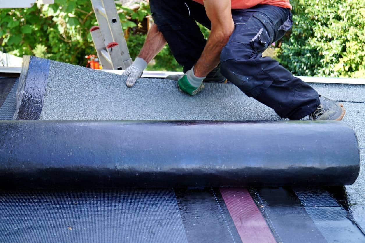 rénovation toiture plate professionnel