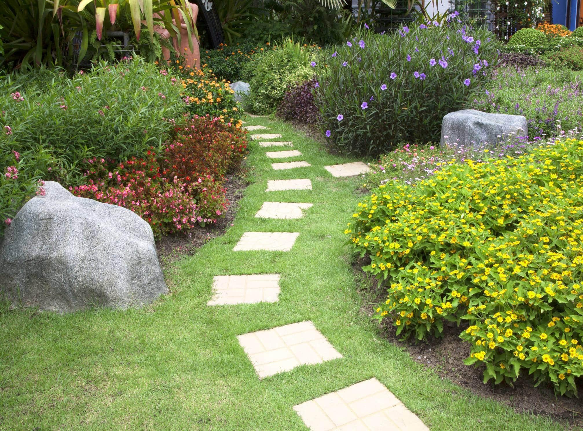aménagement extérieur jardin