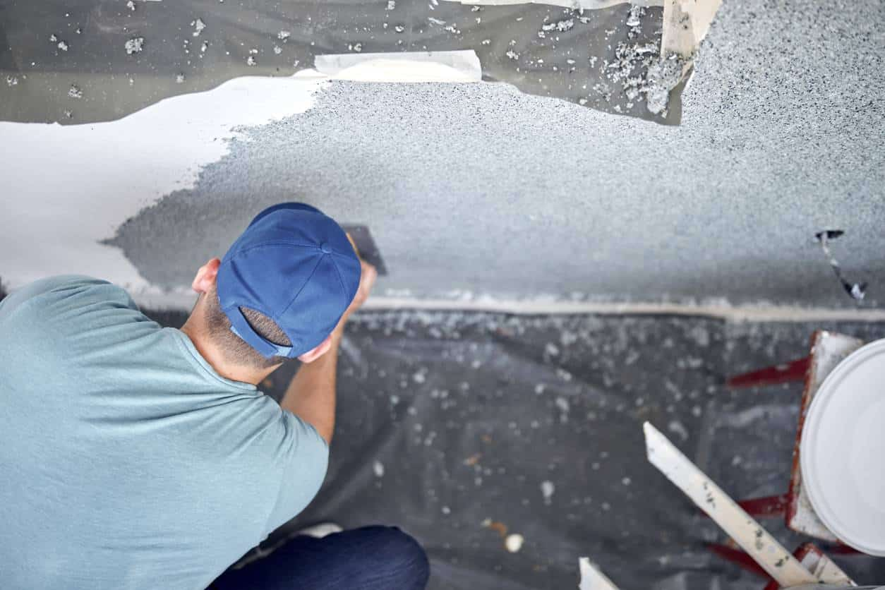 réparer mur en béton détérioré