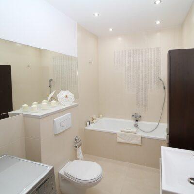 aménager une petite salle de bain moderne